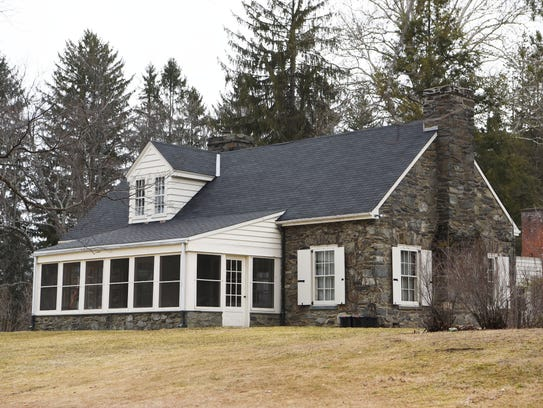 A view of Stone Cottage at the Eleanor Roosevelt National