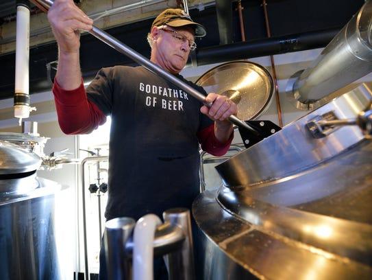 Ben Pierson of Swamp Rabbit Brewery in Travelers Rest