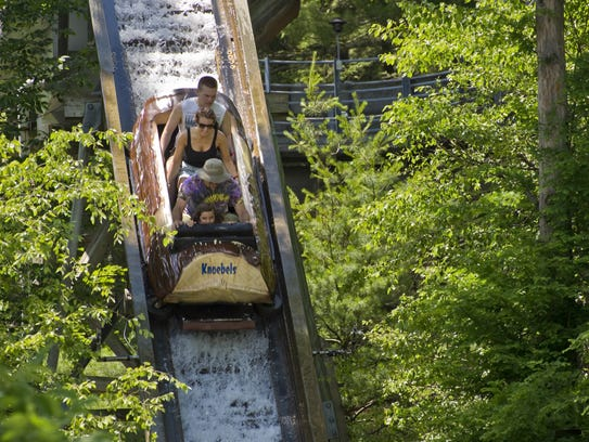 Knoebels Grove Amusement Park in Elysburg, Pa. has