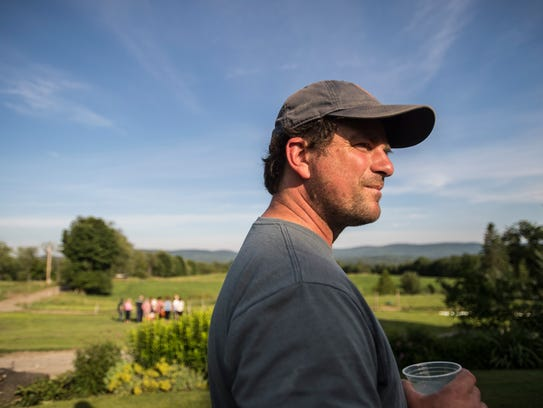 Mateo Kehler, who founded Jasper Hill Farm with his