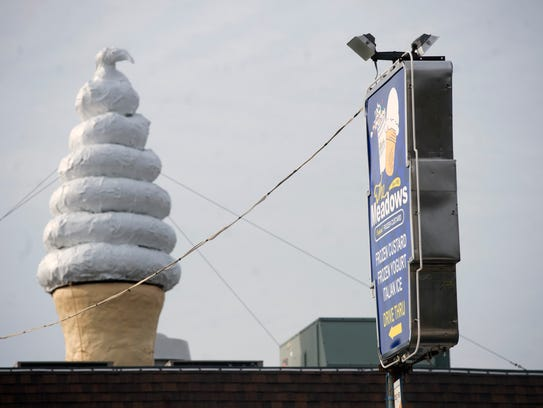 The iconic cone will remain on the building.