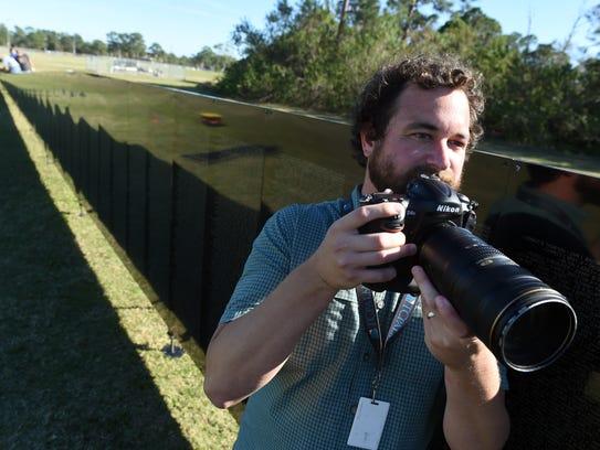 Photojournalist Jeremiah Wilson.