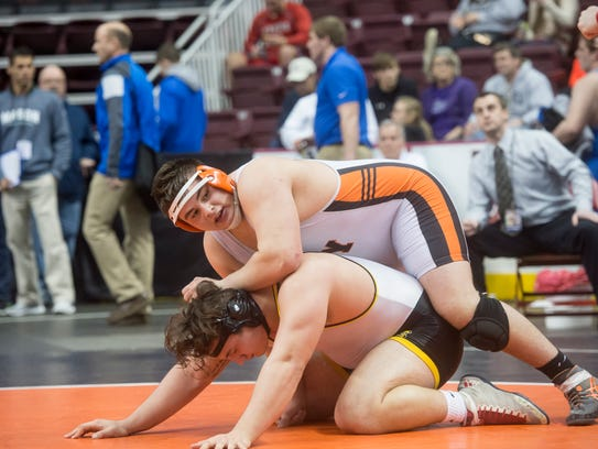 Central York's Michael Wolfgram just finished his second