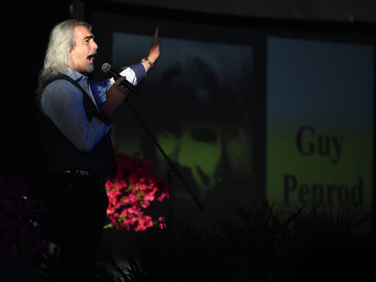 Guy Penrod, formerly of the Gaither Vocal Band, sang the opening song at the 13th annual Vero Beach Prayer Breakfast  at the Indian River County Fairgrounds. He will return for this year's prayer breakfast March 22.