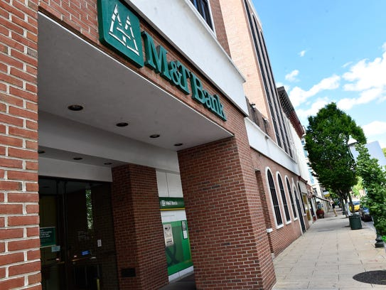 A robbery occurred at M&T Bank, 55 South Main Street.