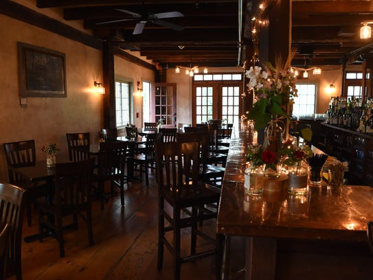 The interior to Tuthill House at The Mill Restaurant