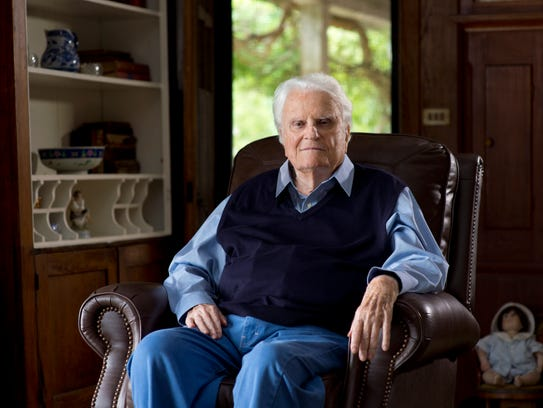 The Rev. Billy Graham, who lives in Montreat, turns