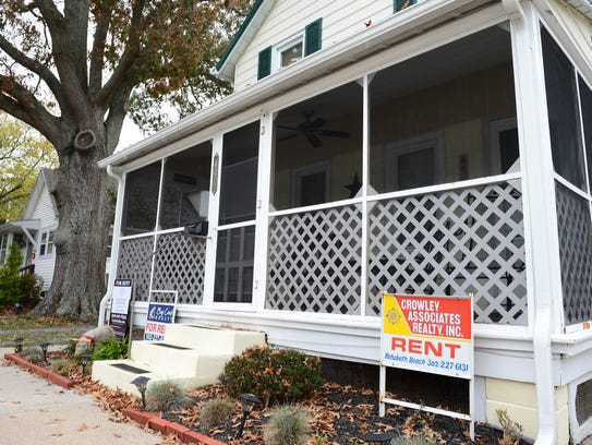 A home in Rehoboth Beach, Del., for rent in November 2017.
