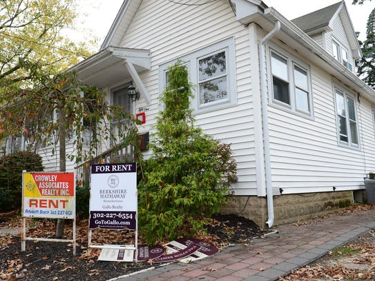 A home in Rehoboth Beach, Del., for rent.
