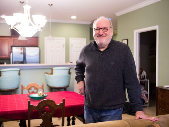 Knoxville resident Mike Cohen rents out his West Knoxville residence via Airbnb.