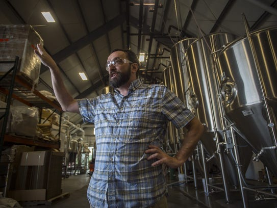 Fiddlehead Brewing founder Matt Cohen gives the Free