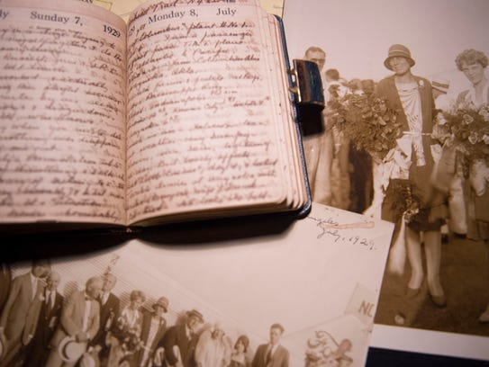 Artifacts and photographs relating to Dorothy Binney