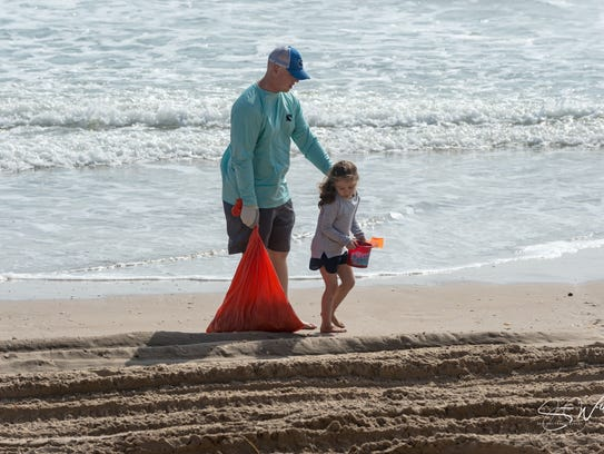 The 23rd Billy Sandifer Big Shell Beach Cleanup surpassed