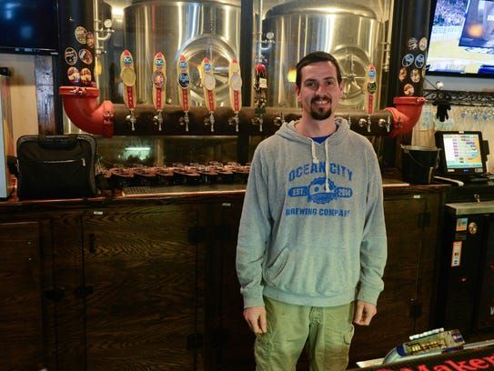Matt Rankin, general manager of OC Brewing Company,