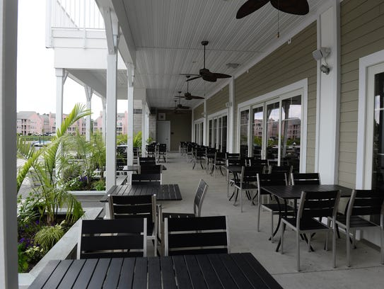 The newly renovated restaurant at The Cove at Mumford
