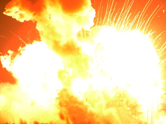 Orbital's Antares rocket exploded shortly after takeoff