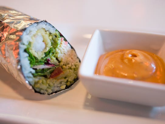 Sushi burritos a hit for old town restaurant for Cuisine wabi sabi