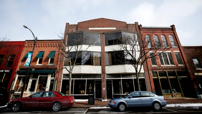 There are more than 250 businesses and 130 apartments throughout Corning's Gaffer District.