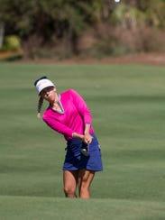 LPGA Tour pro Pernilla Lindberg during the third round