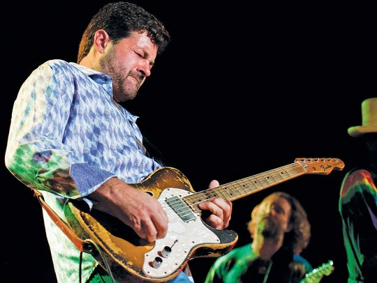 Tab Benoit plays the Riverfront Blues and BBQ Fest