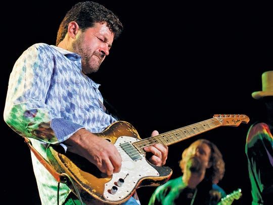 Tab Benoit plays the Riverfront Blues and BBQ Fest on Sunday.