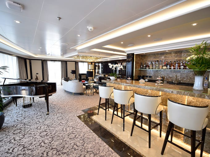 Luxury line Regent Seven Seas Cruises in 2016 debuted
