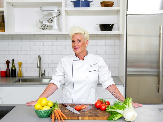 According to data from GoogleTrends, Food Network's  Anne Burrell is the top celebrity chef in Mississippi.