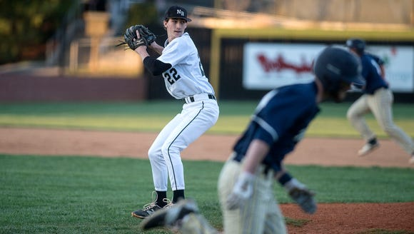 Former North Buncombe pitcher Robert Rogers is headed