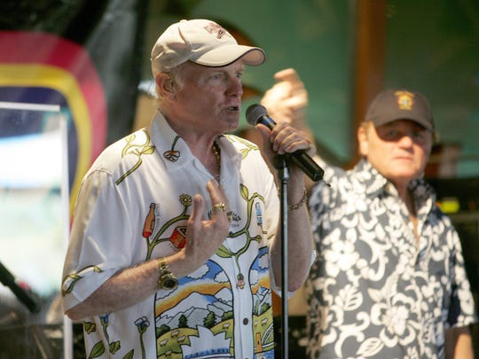 Mike Love, pictured in 2006, will bring his Beach Boys to the State Theatre in New Brunswick on March 31.
