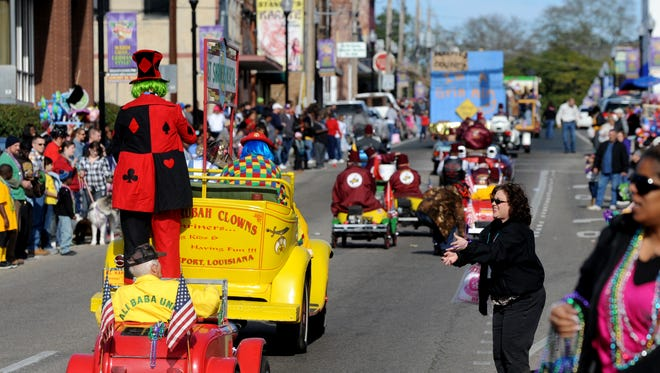 Celebrate the holidays German style in downtown Minden. The Fasching Parade makes its way through downtown Minden on Saturday afternoon.  Fasching is the German version of Mardi Gras.