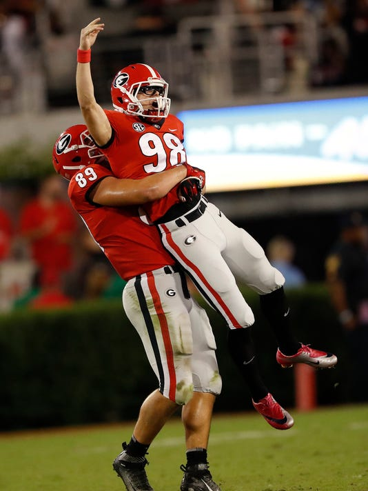 quality design ef332 2141b Georgia kicker Blankenship to return for senior season