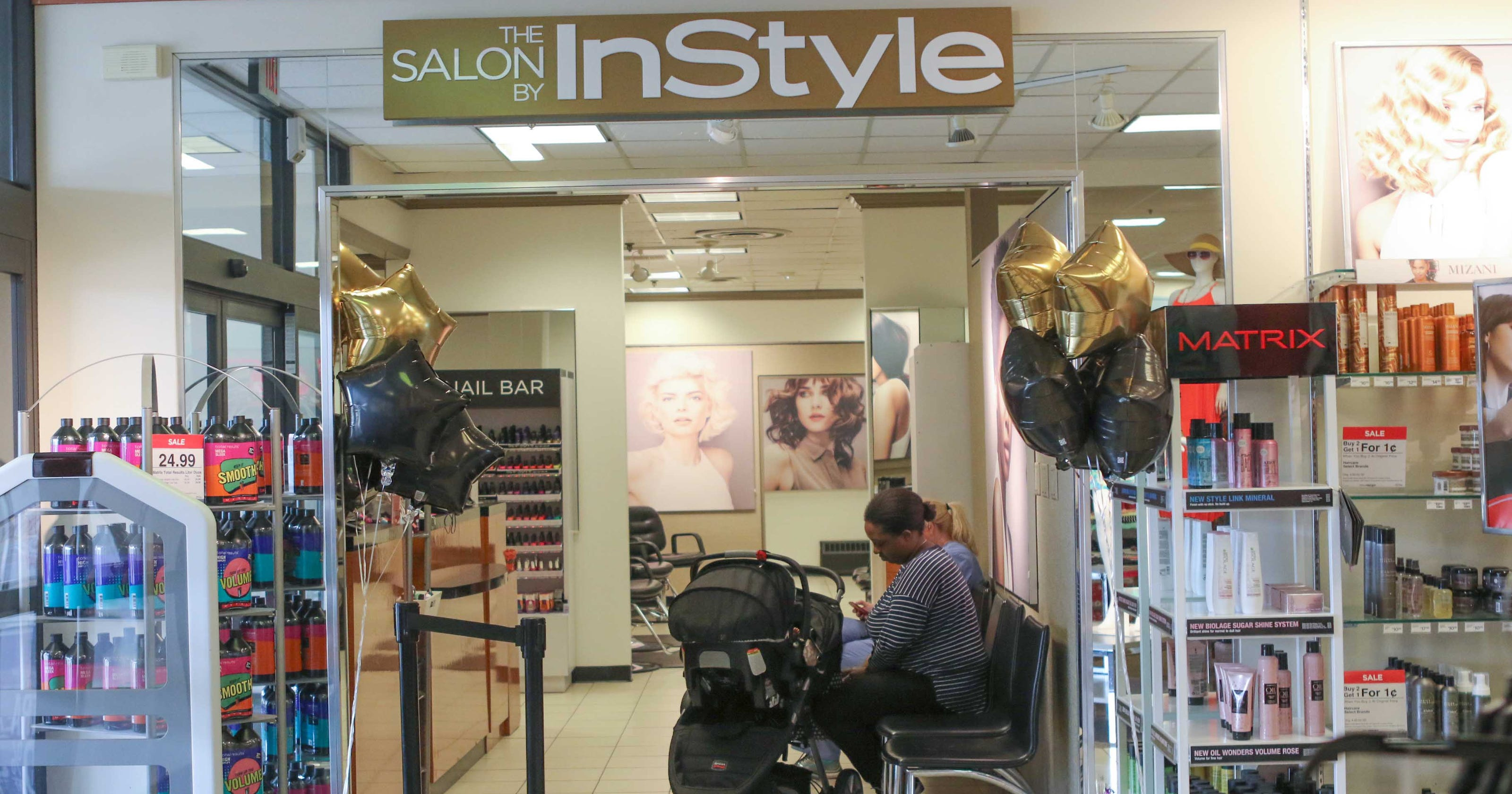 Jc Penney Unveils Instyle Salon At Christiana Mall