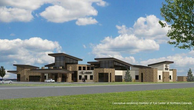 Eye Center of Northern Colorado is adding a new location at Harmony Technology Park.