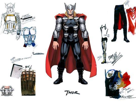 Thor live design