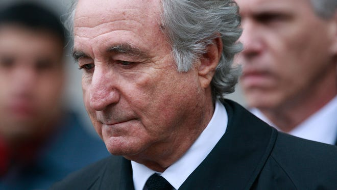 Bernie Madoff was a stockbroker who ran his multibillion-dollar firm as a grand-scale Ponzi scheme. He is currently serving a 150-year prison sentence.