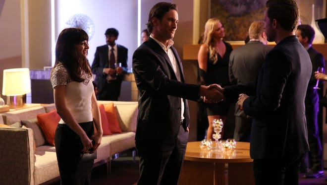 AUBREY PEEPLES, OLIVER HUDSON, WILL CHASE