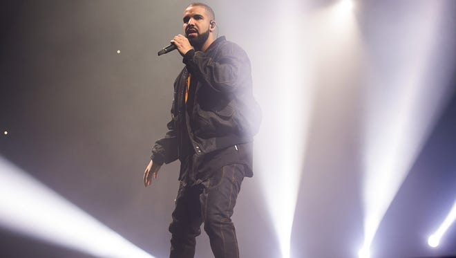 Drake performs in concert as part of the Summer Sixteen Tour at Madison Square Garden on Friday, Aug. 5, 2016, in New York.