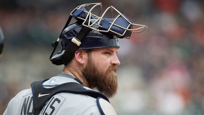 Derek Norris was released by the Tampa Bay Rays earlier this season.
