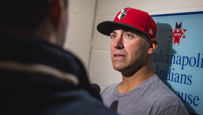 Brian Esposito begins his first season as Indians manager on Friday.