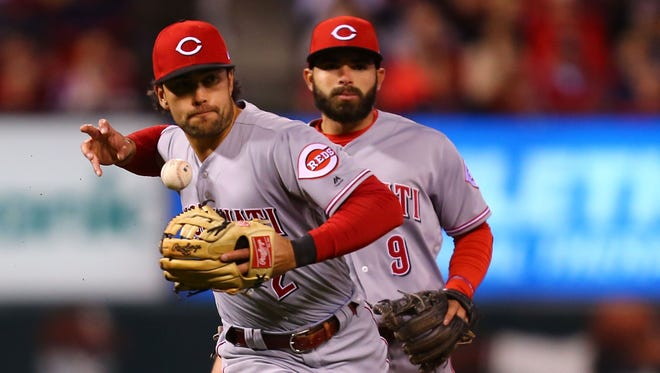 Five starting pitchers on other teams already have more wins than the 4-18 Reds.