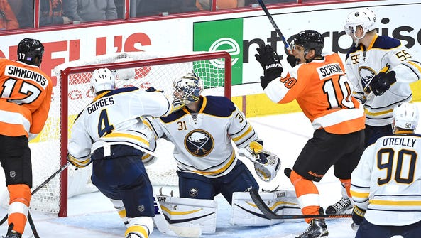 The last time the Sabres visited Philly the Flyers