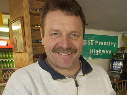 Robert Pressley, a restaurant owner and former NASCAR driver, is running for Buncombe County commissioners in District 3, which comprises the western portion of the county.