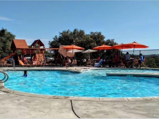 The pool at Yosemite RV Resort has been refurbished.
