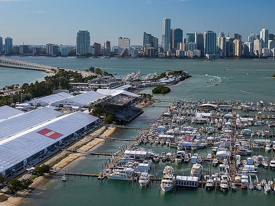 The 2017 Progressive Insurance Miami International Boat Show will take place Thursday through Monday.