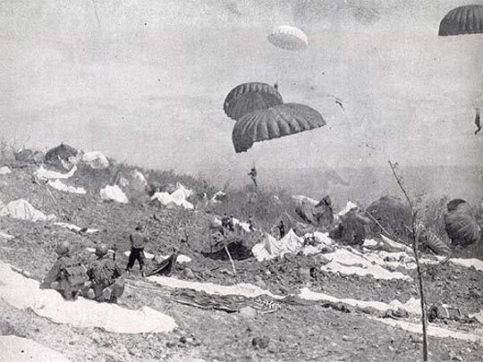 Paratroopers of the 503rd Parachute Regimental Combat