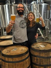 Ryan and Erin Cottongim of Witch's Hat Brewery Company will again host Fury for a Feast this Saturday, Aug. 27.