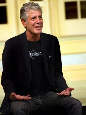 "In 2011, Anthony Bourdain discusses George V. Higgins' crime novel ""The Friends of Eddie Coyle"" with FSU writing students."
