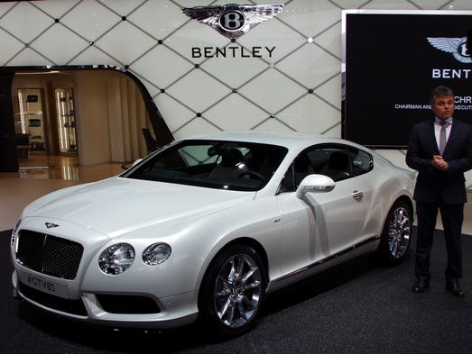 """Bentley CEO Wolfgang Schreiber introduces the Continental GT V-8 S -- """"for V-8 owners who want more."""""""
