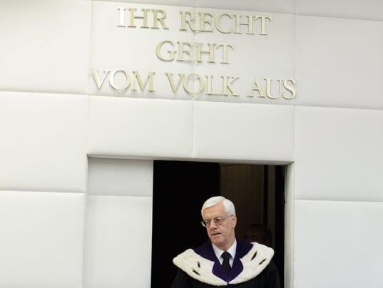 EPA AUSTRIA PRESIDENTIAL ELECTIONS RUN-OFF COURT VERDICT CLJ JUDICIARY (SYSTEM OF JUSTICE) AUT