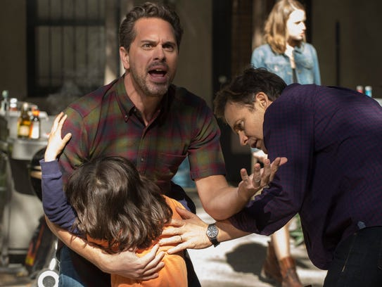 In NBC's 'The Slap,' an enraged dad comforts his son